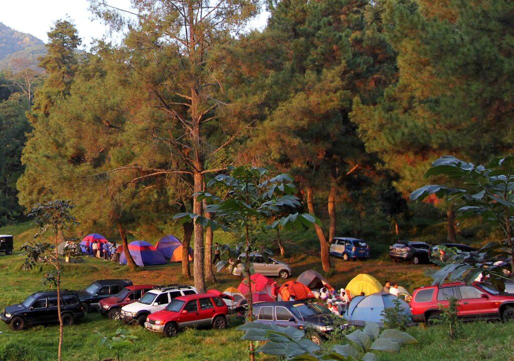 camping di bogor sukamantri