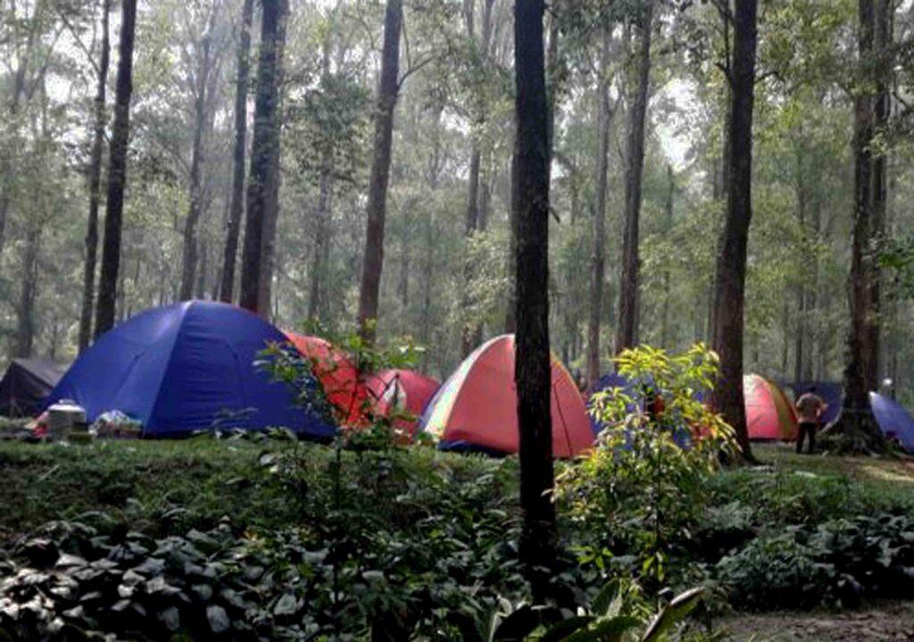 tempat camping di gunung bunder bogor