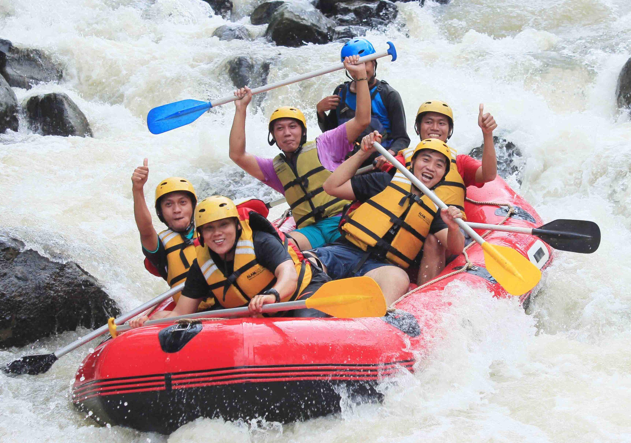 wisata rafting di puncak bogor