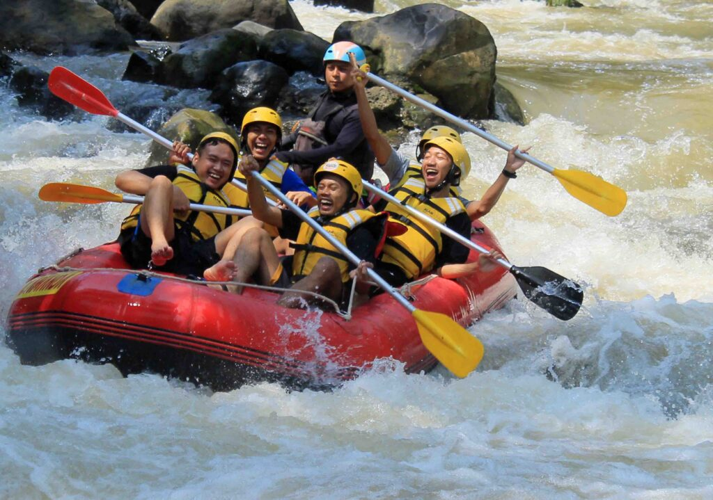 adventure rafting cisadane