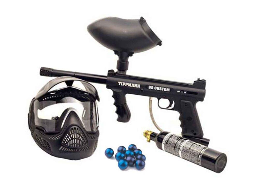 paintball rental kit