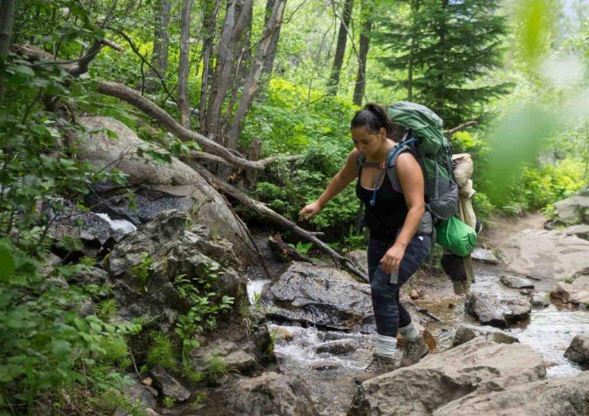 camping dan trekking di puncak