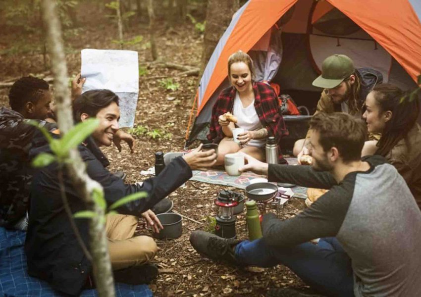 camping ground keluarga