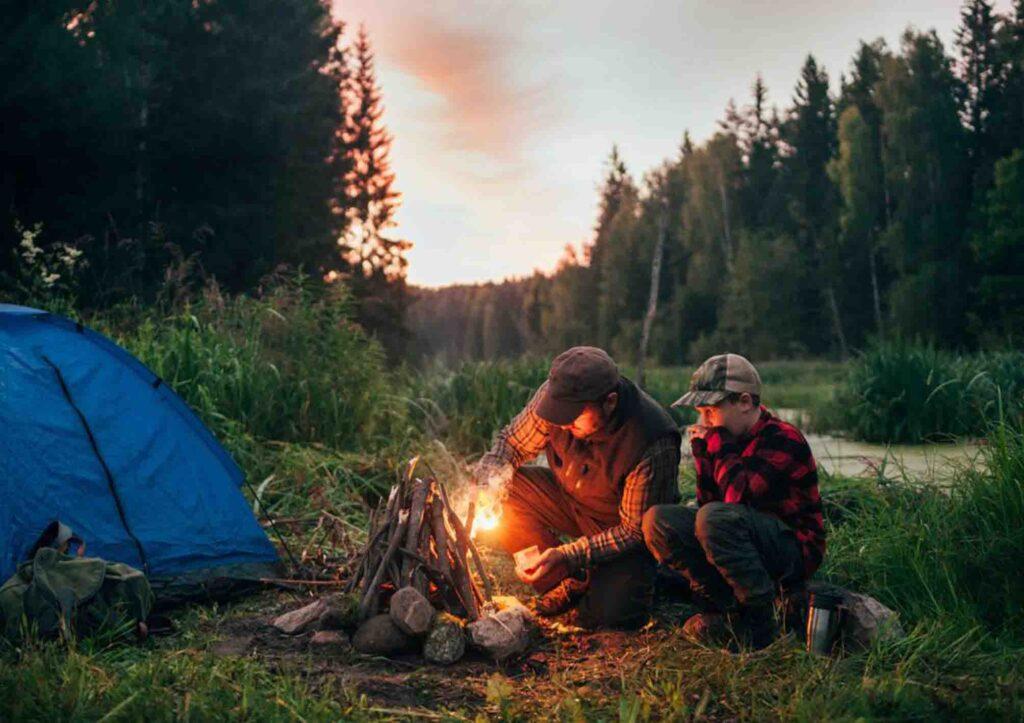 curug naga camping ground